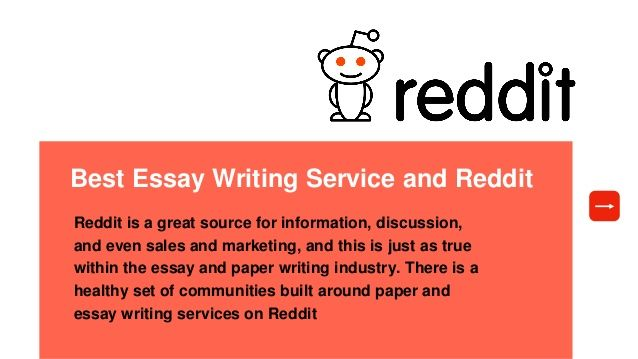 EXPERT MBA FROM THE BEST REDDIT ESSAY WRITING HOMEWORK