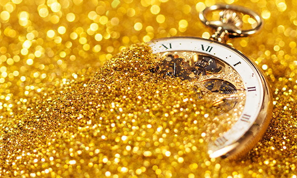 The Latest Event Trend - Gold Parties!